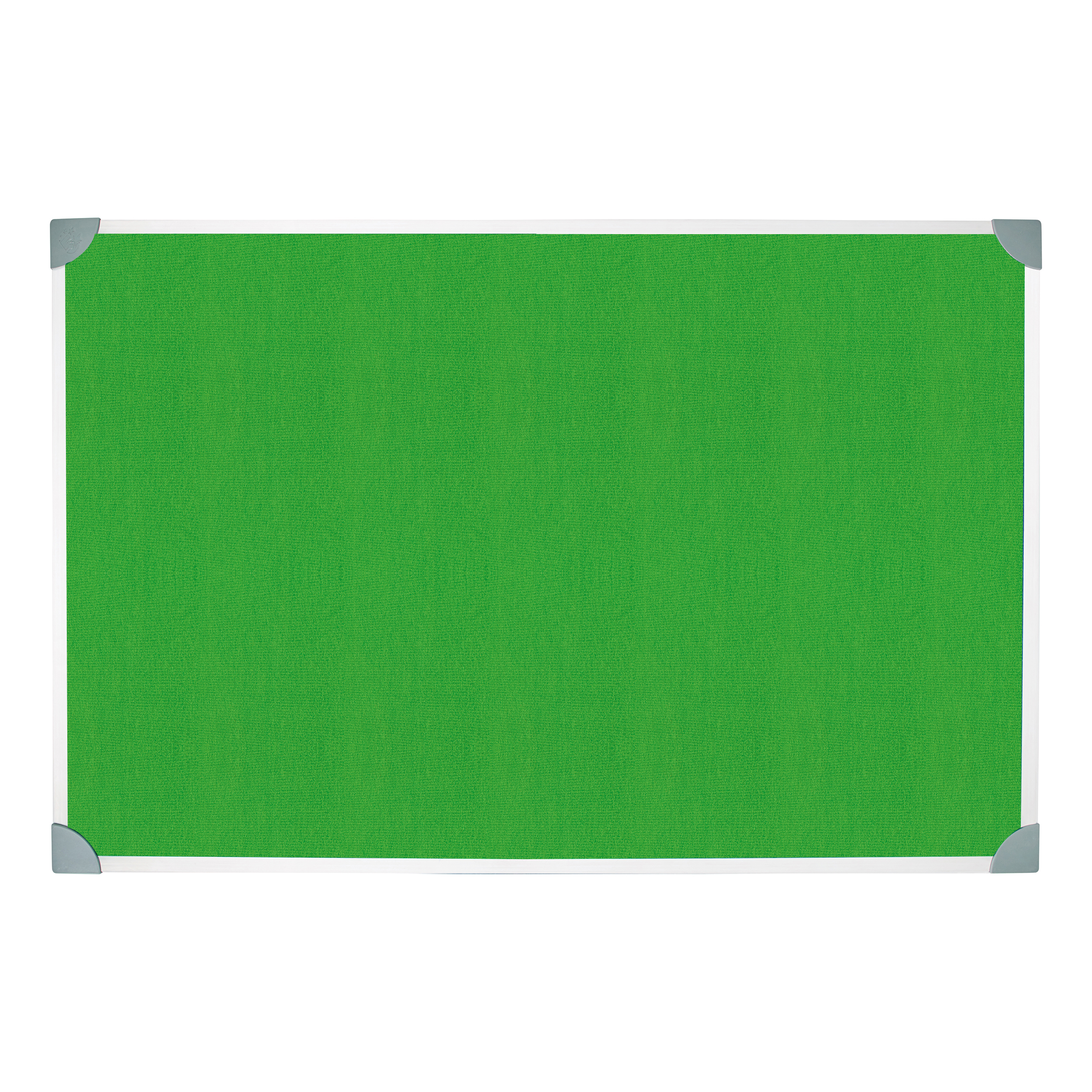 Bulletin boards or accessories 5 Star Green Felt Noticeboard 900x600mm Aluminium Frame
