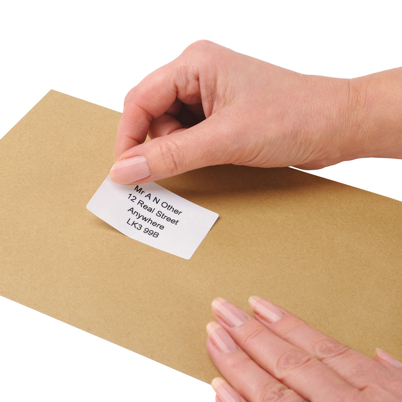 5 Star Office Address Labels 89x36mm on Continuous Roll [250 Labels]