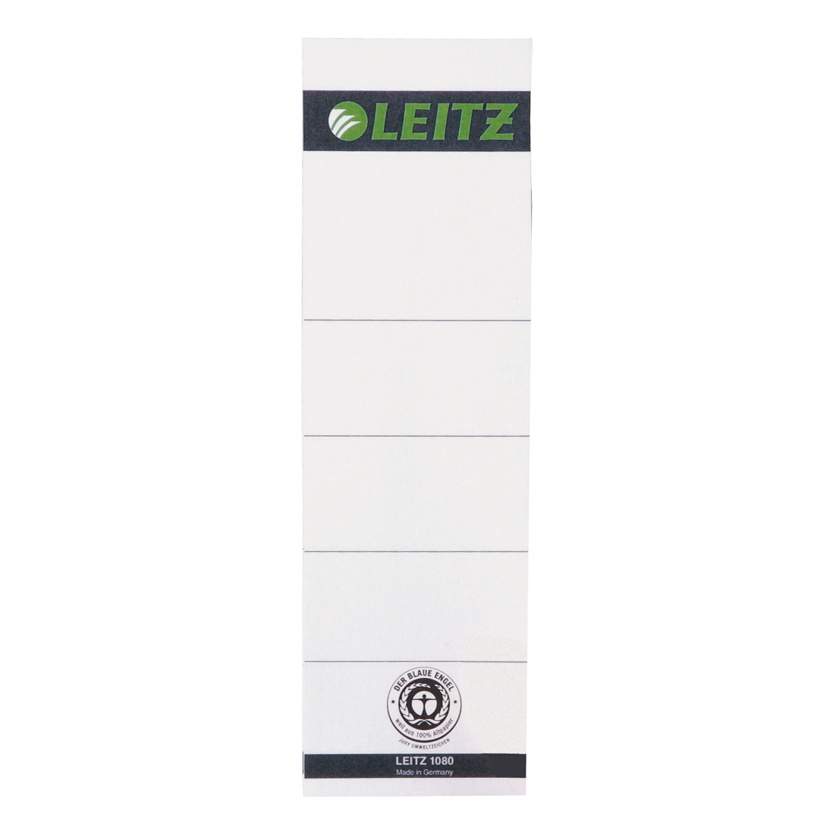 Leitz Replacement Spine Labels for Standard Board Files Self Adhesive Ref 1642-00-85 Pack 10