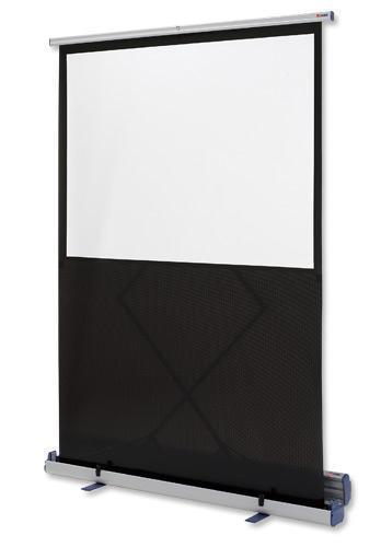 Image for Nobo Projection Screen Floor-standing Portable 2000mm Diagonal Matt White Ref 1901956