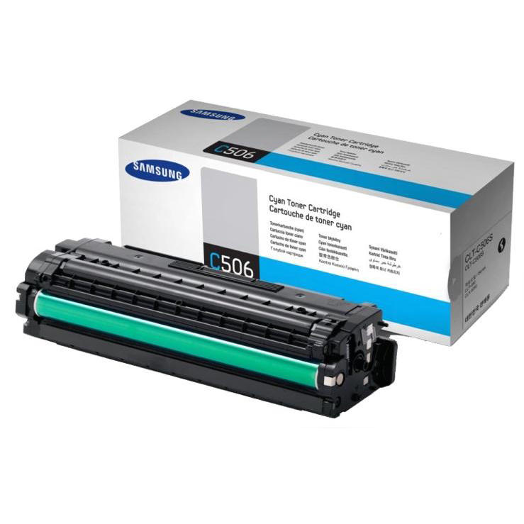 Samsung CLT-C506S Laser Toner Cartridge Page Life 1500pp Cyan Ref SU047A