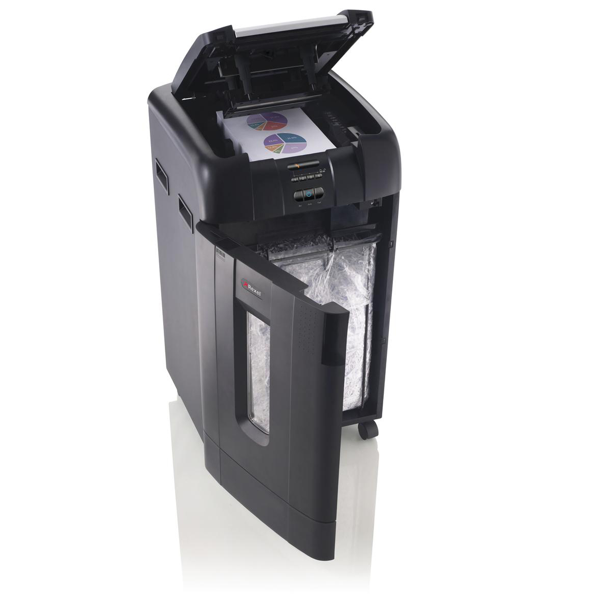 Rexel AutoPlus 750X Large Shredder Cross Cut P-4 Ref 2103750