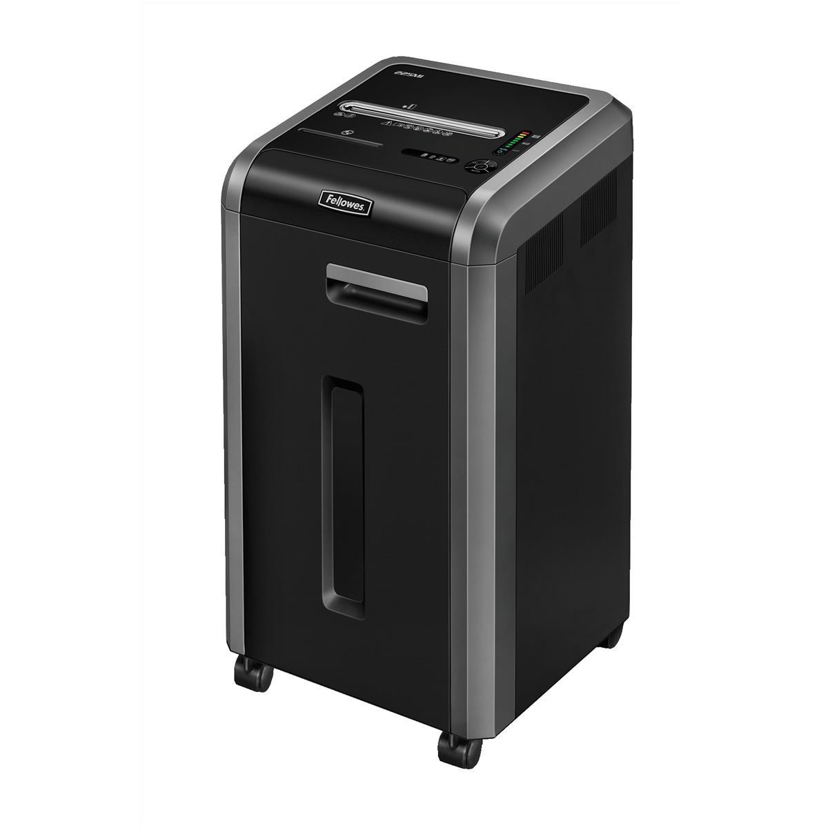 Fellowes 225Mi Shared Workspace Shredder Micro Shred DIN4 P-5 Ref 462210 [Promo]