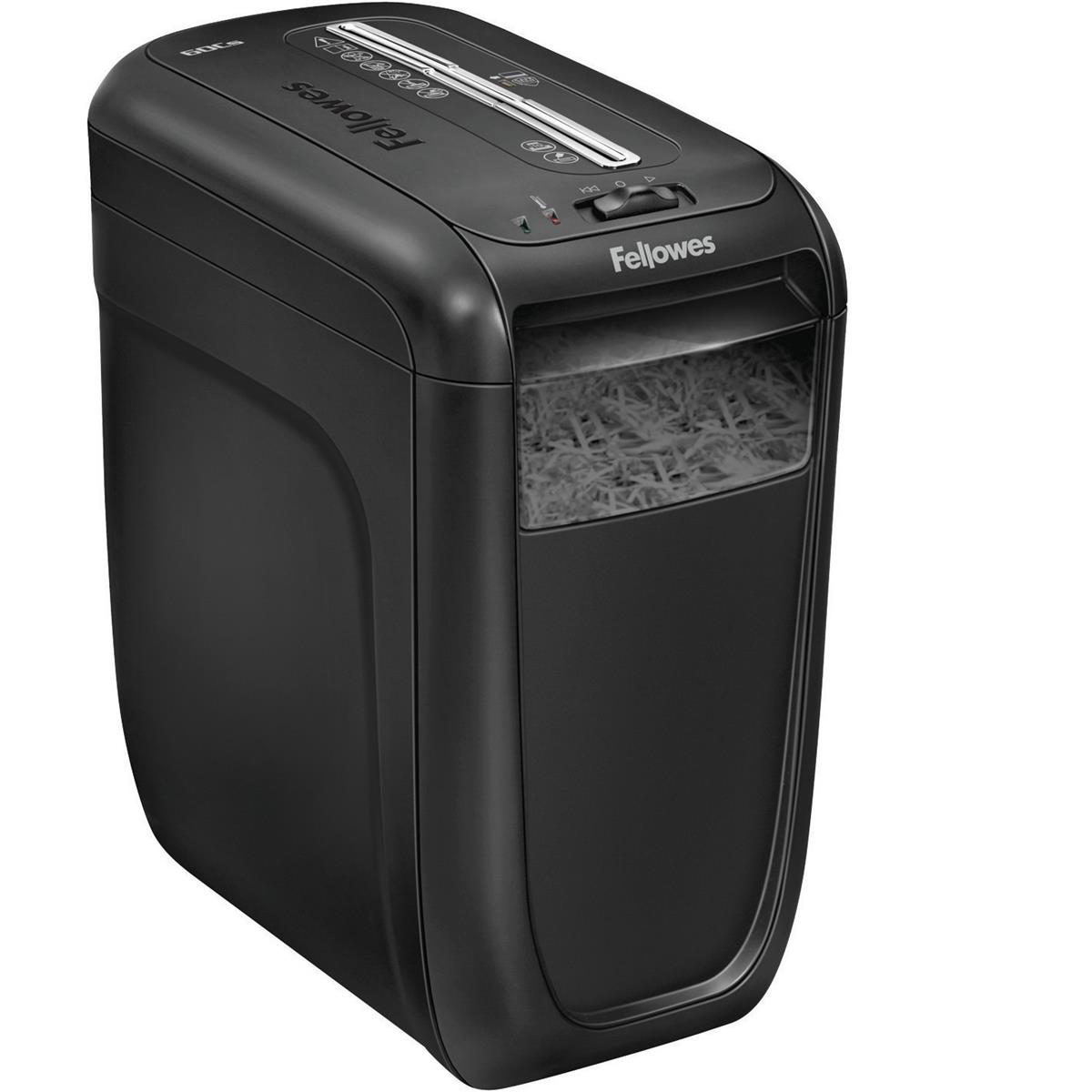 Fellowes 60Cs Deskside Shredder Cross-cut DIN3 P-3 22 Litres Ref 4606201