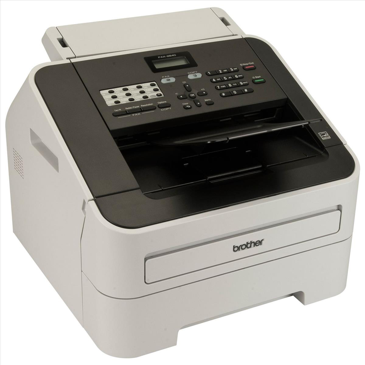 Brother FAX2840 Mono Laser Fax Machine Ref FAX2840ZU1