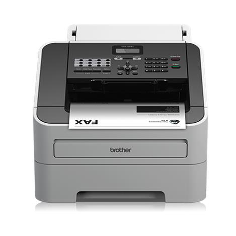Image for Brother FAX-2840 High-Speed Laser Fax Machine White FAX2840ZU1