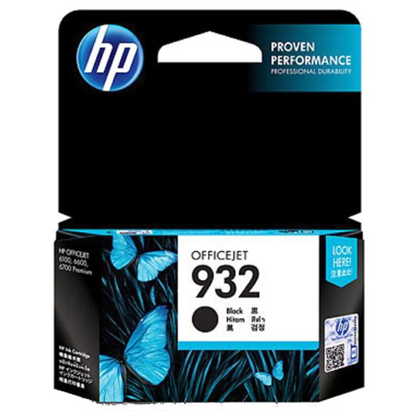Hewlett Packard [HP] No. 932 Inkjet Cartridge 8.5ml Black Ref CN057AE #BGX