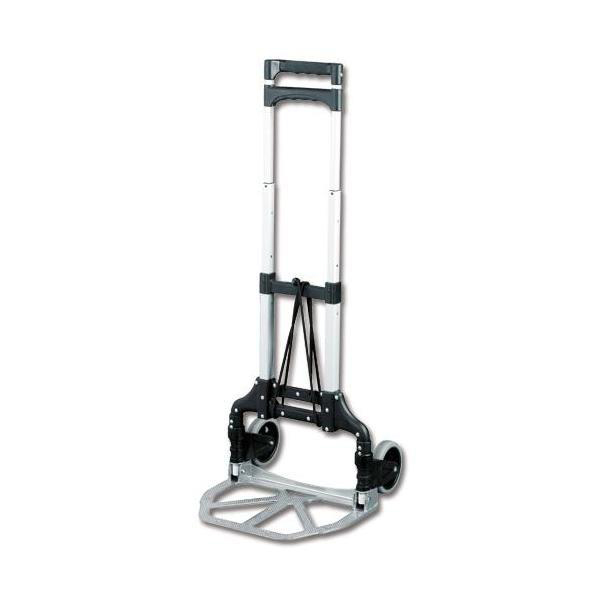 Tilt trucks Lightweight Folding Sack Truck Telescopic Handle Capacity 60kg Foot Size W387xL279mm Ref LWFT/60