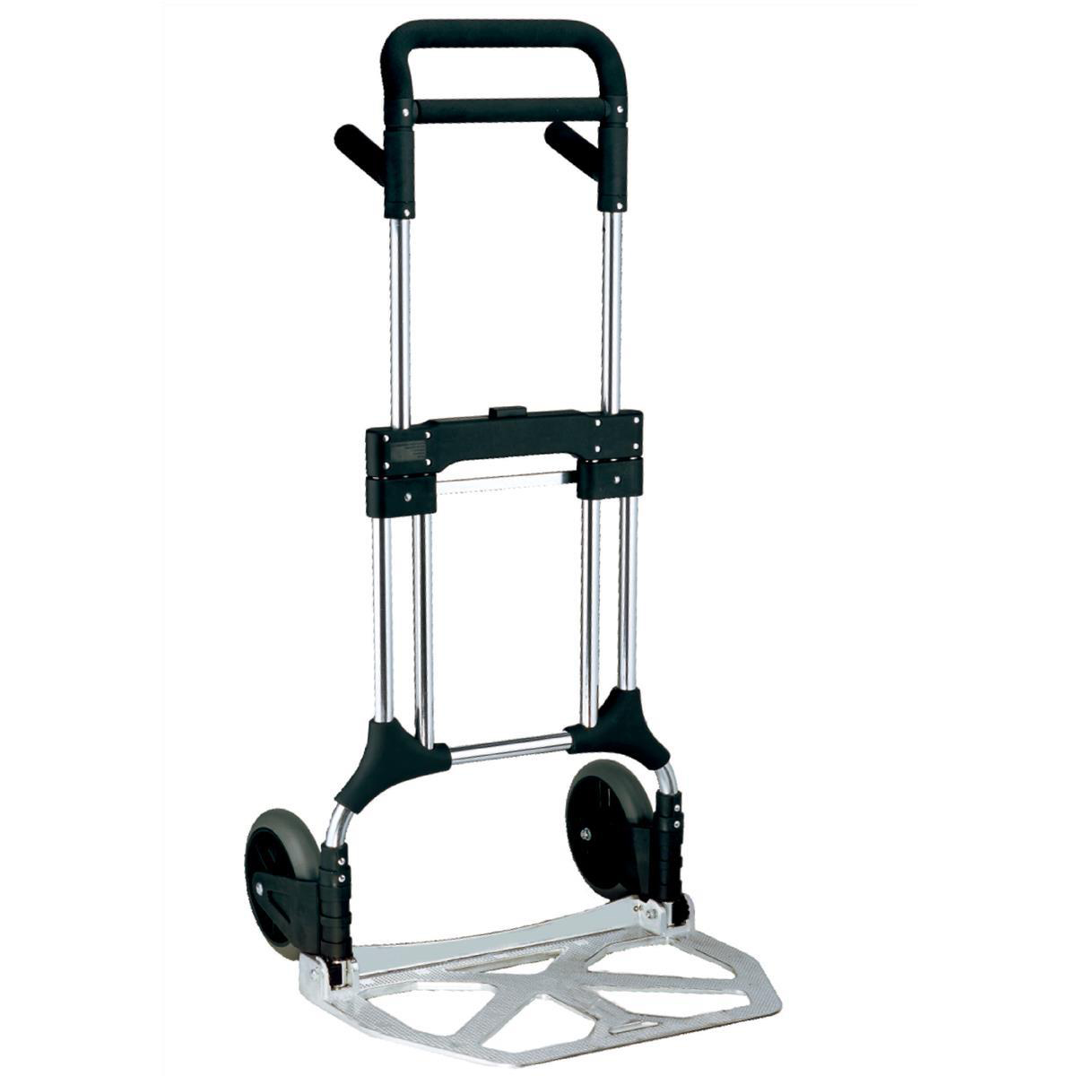 Lightweight Folding Sack Truck Telescopic Handle Capacity 200kg Foot Size W590xL390mm Ref LWFT/200