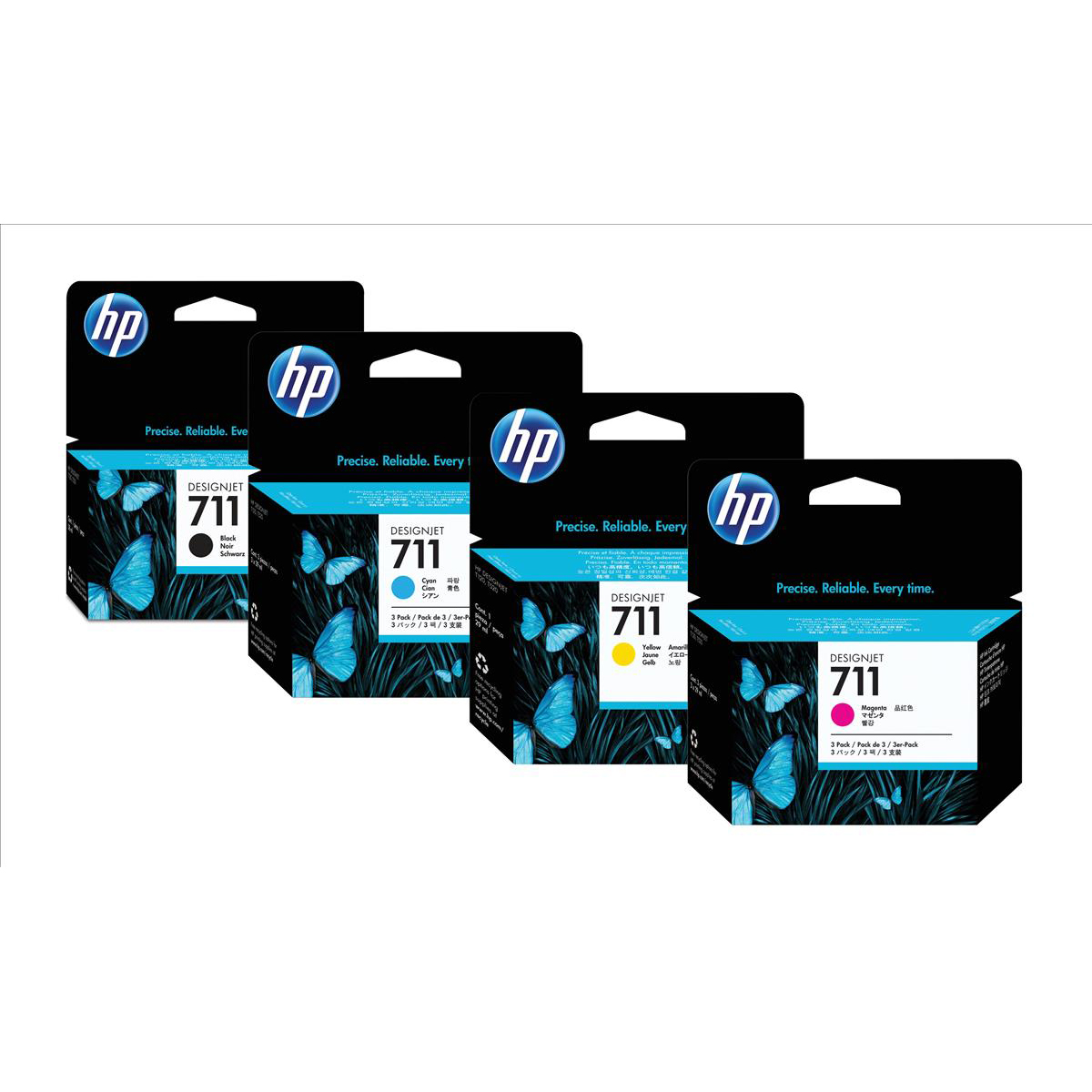 Hewlett Packard [HP ]No.711 Inkjet Cartridge 38ml Black Ref CZ129A