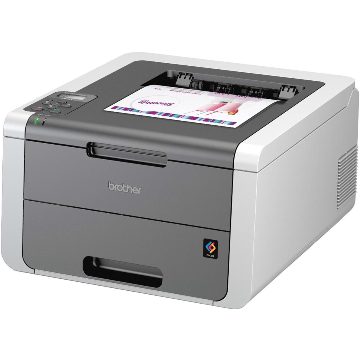 Brother Colour Laser A4 Printer With Wireless Network Ref HL3140CW