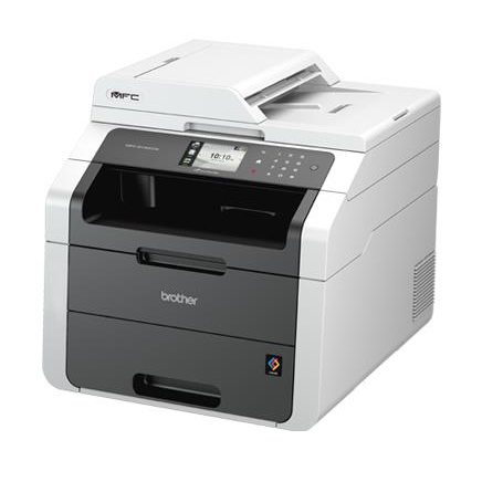 Brother Colour Laser Multifunctional A4 Printer Duplex with Wired Network Ref MFC9140CDN