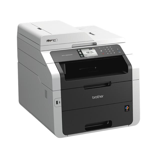 Image for Brother Colour Laser Multifunctional A4 Duplex Printer with Wireless  Network Ref MFC9340CDW