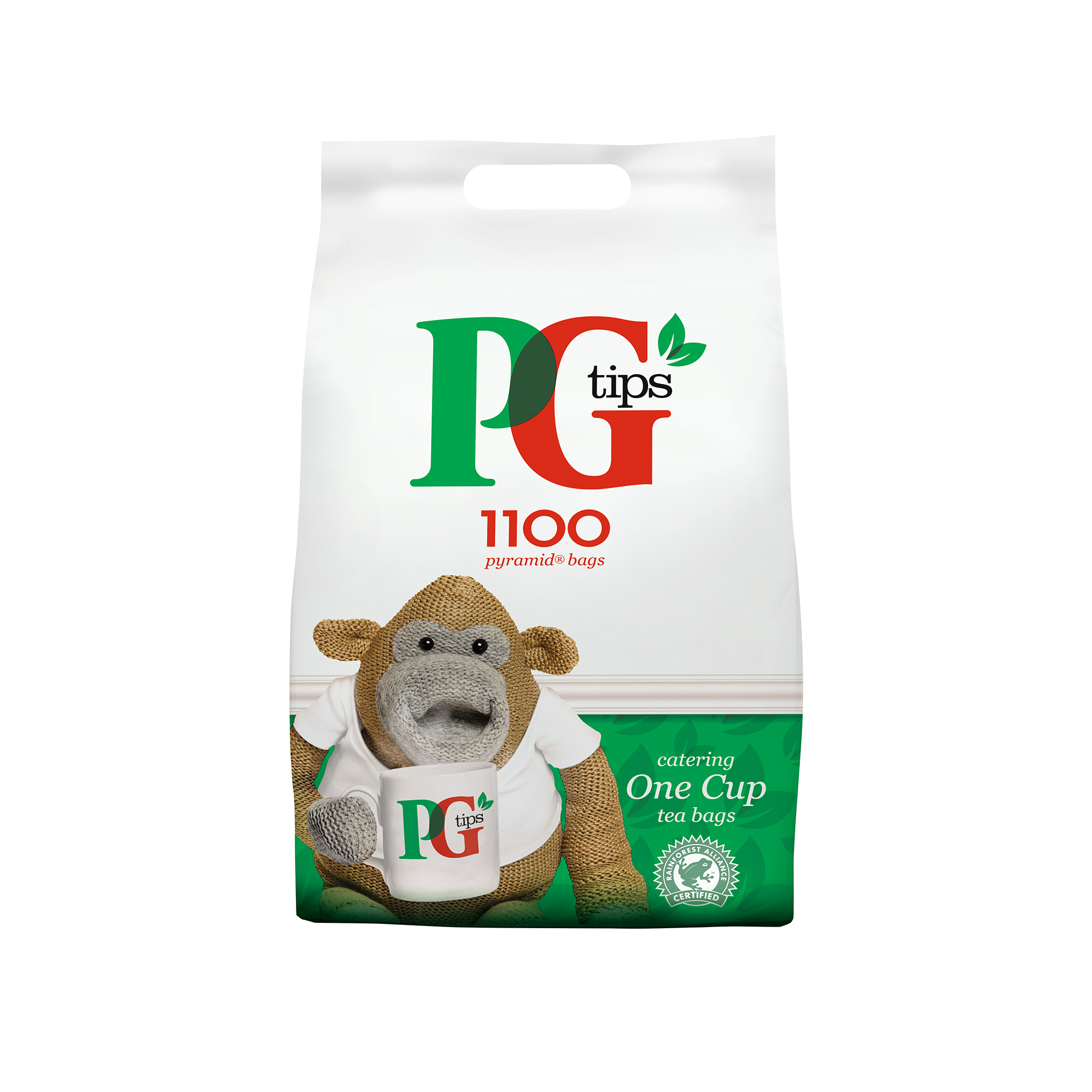 Tea PG Tips Tea Bags Pyramid 1 Cup Ref 67395661 Pack 1100