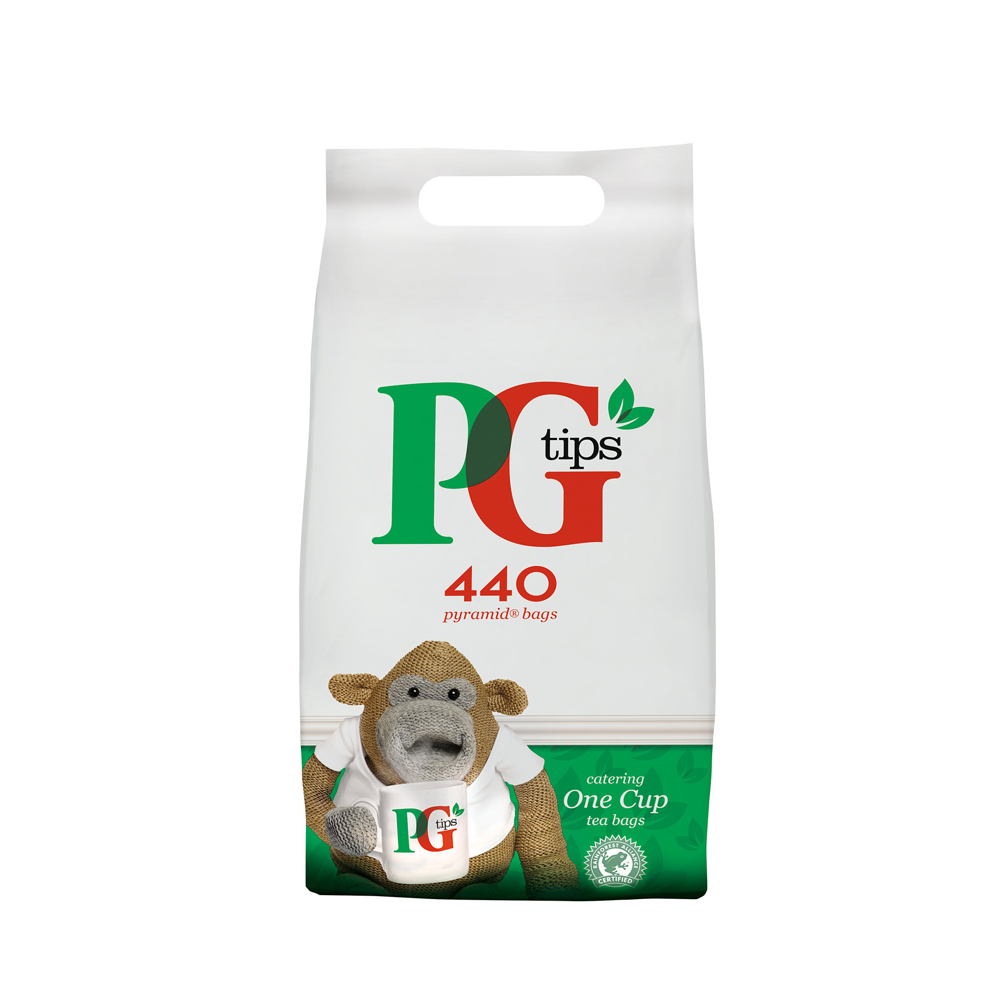 Tea PG Tips Tea Bags Pyramid Ref 67395657 Pack 440