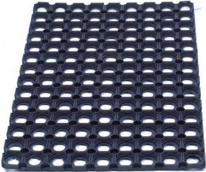 Image for Floortex Door Mat Indoor and Outdoor Rubber 800x1200mm Black
