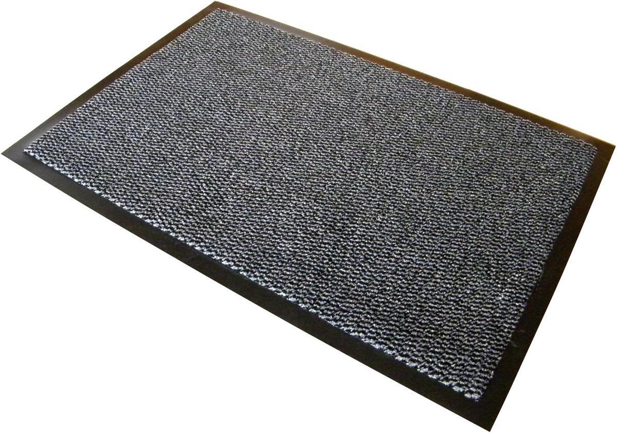Image for Floortex Mat on Roll Polypropylene Anti Slip Plush Pile 900x3000mm Grey