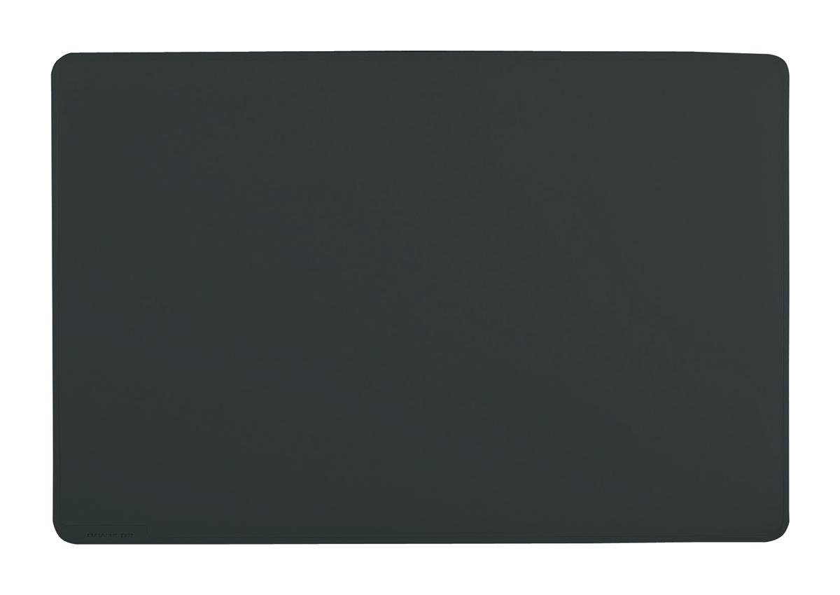 Image for Durable Desk Mat Contoured Edge W650xD520mm Black Ref 7103/01