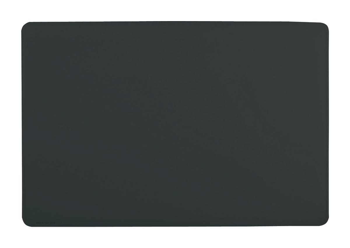 Image for Durable Desk Mat Contoured Edge W530xD400mm Black Ref 7102/01