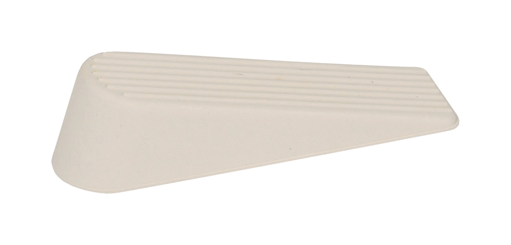 Image for Door Wedge Rubber White [Pack 2]