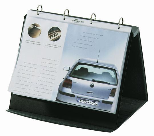 Image for Durable Durastar Presentation Portfolio A4 Graphite Ref 8567