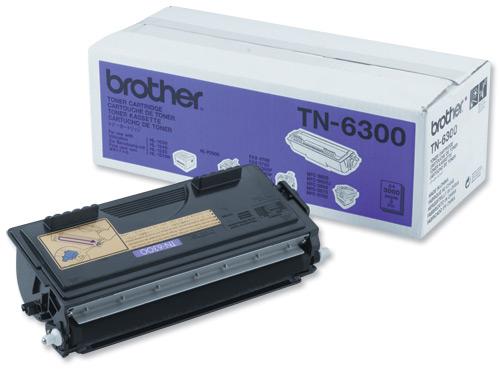 Brother Laser Toner Cartridge Page Life 3000pp Black Ref TN-6300