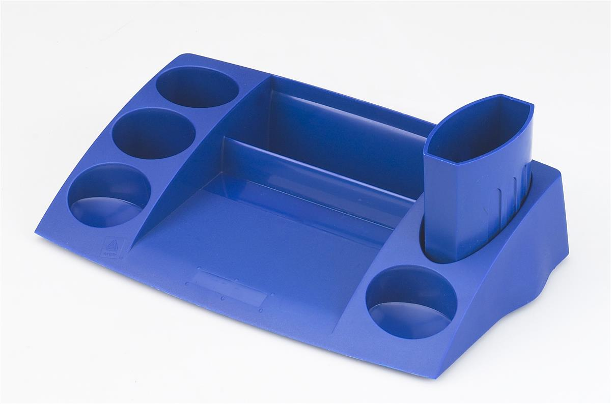 Image for Avery DTR Desk Tidy W270xD152xH55mm Blue Ref DR400BLU