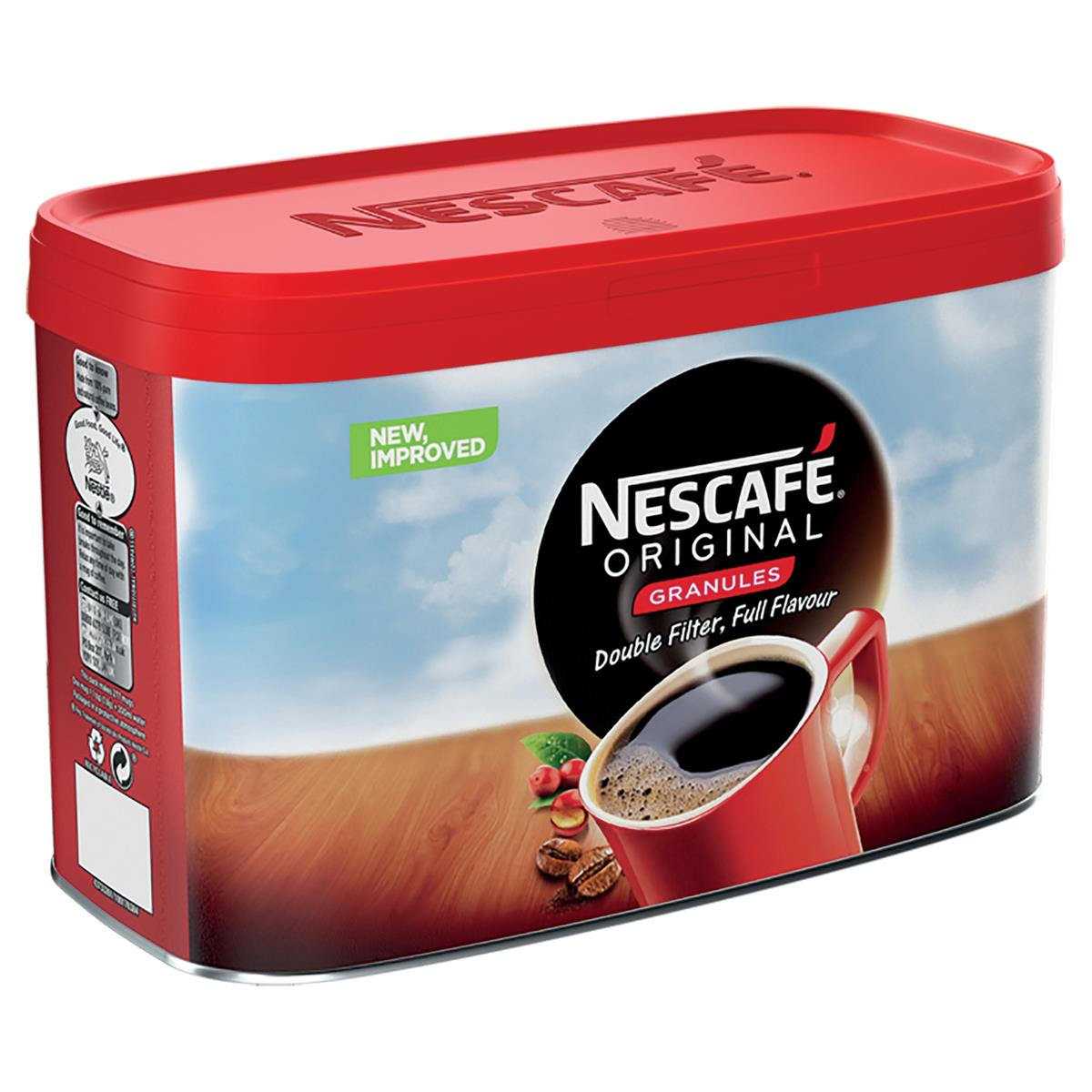 Nescafe Original Instant Coffee Granules Tin 500g Ref 12295139