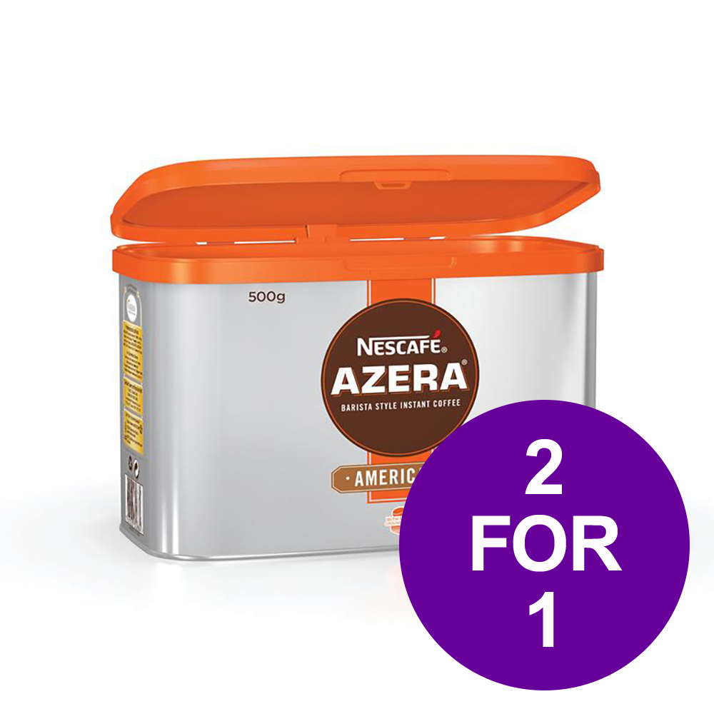 Nescafe Azera Barista Style Instant Coffee Americano 500g Ref 12284221 [2 For 1] May-Jun 2019