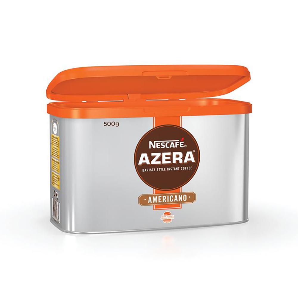 Nescafe Azera Barista Style Instant Coffee Americano 500g Ref 12284221 [2 For 1] May-Jun 2019