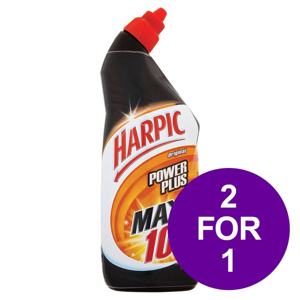 Harpic Power Plus Liquid Original 750ml Ref 384037 [2 For 1] Jun 2019