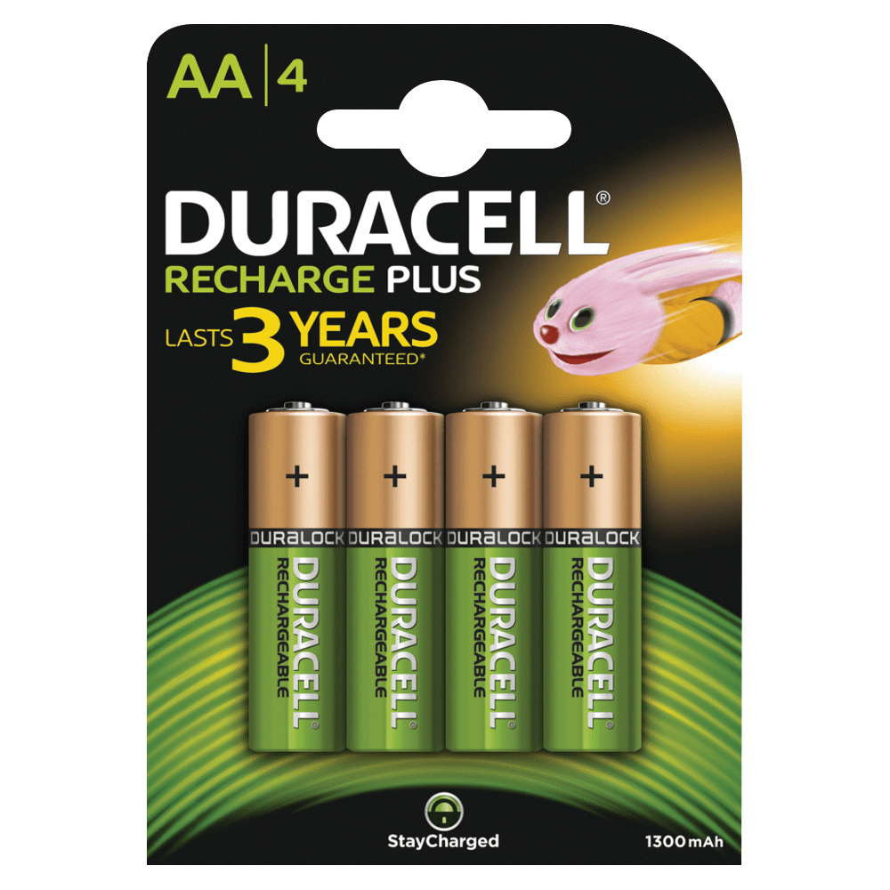 Duracell Battery Charger Hi Speed for AA/AAA Ref 81528873 FREE AA Battery Pack 4 Apr-Sep 2019