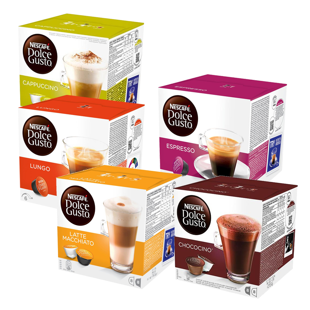 Nescafe Dolce Gusto Majesto Coffee Machine 1.8L Ref 12360980 FREE Assorted 240 x Pods Apr-Dec 19