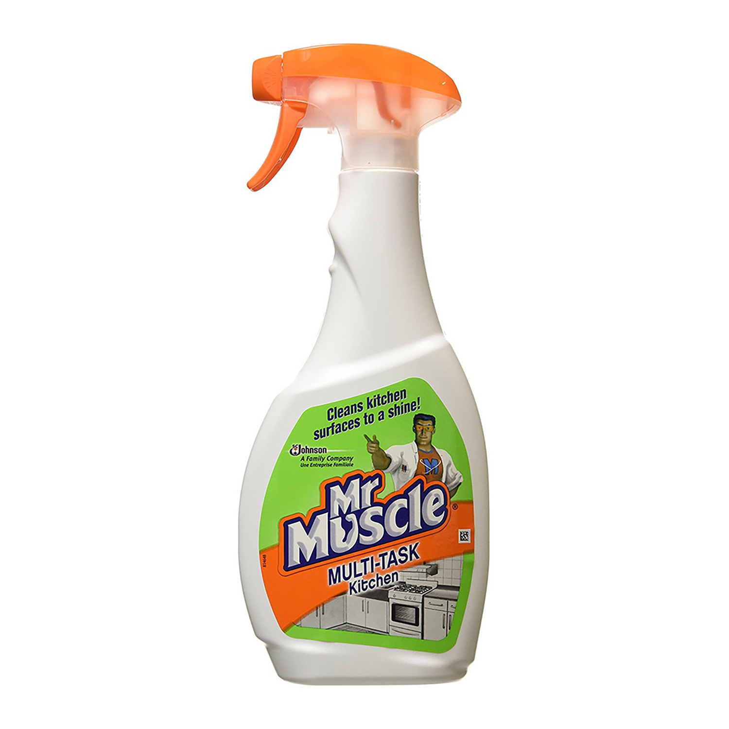 Mr Muscle Kitchen Cleaner Lemon Trigger Spray for All Kitchen Surfaces 750ml Ref 1004040
