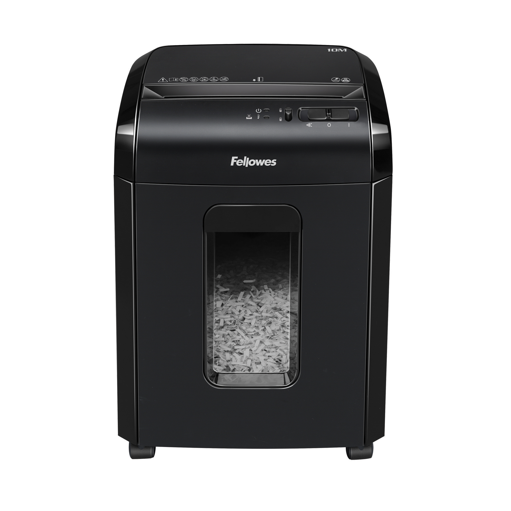 Shredders Fellowes Powershred 10M Shredder Micro Cut P-5 Ref 4630601