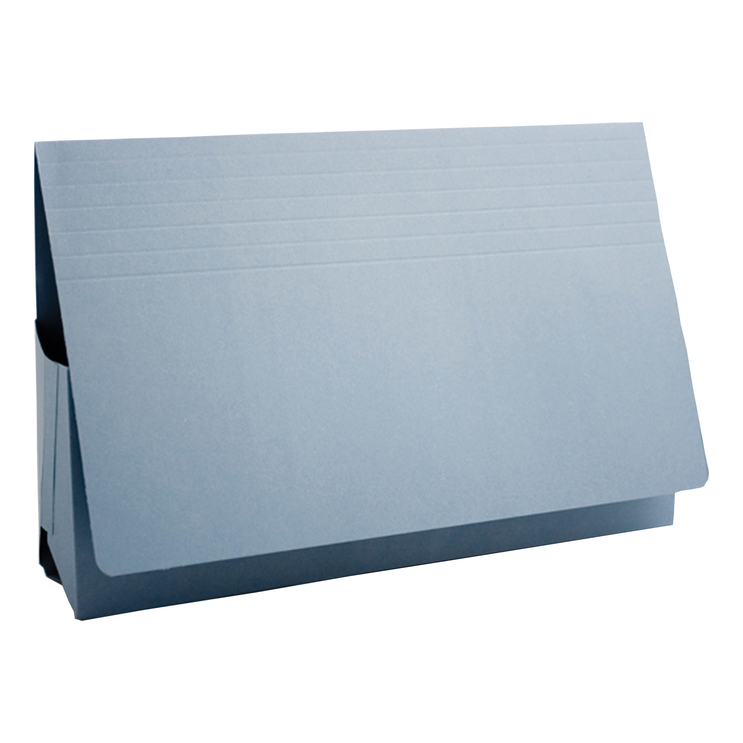 Guildhall Probate Wallets Manilla 315gsm 75mm Foolscap Blue Ref PRW2-BLUZ [Pack 25]