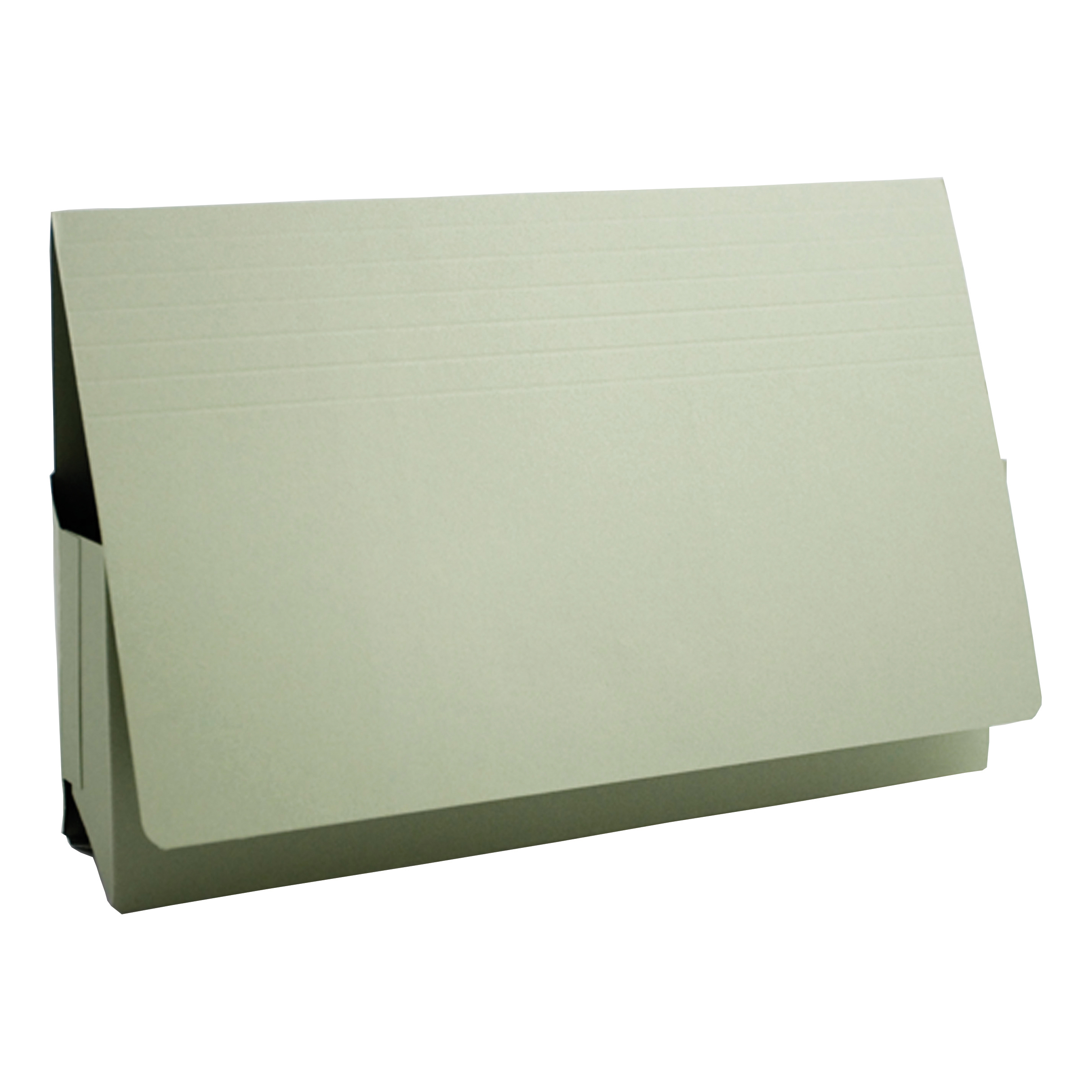 Guildhall Probate Wallets Manilla 315gsm 75mm Foolscap Green Ref PRW2-GRNZ [Pack 25]