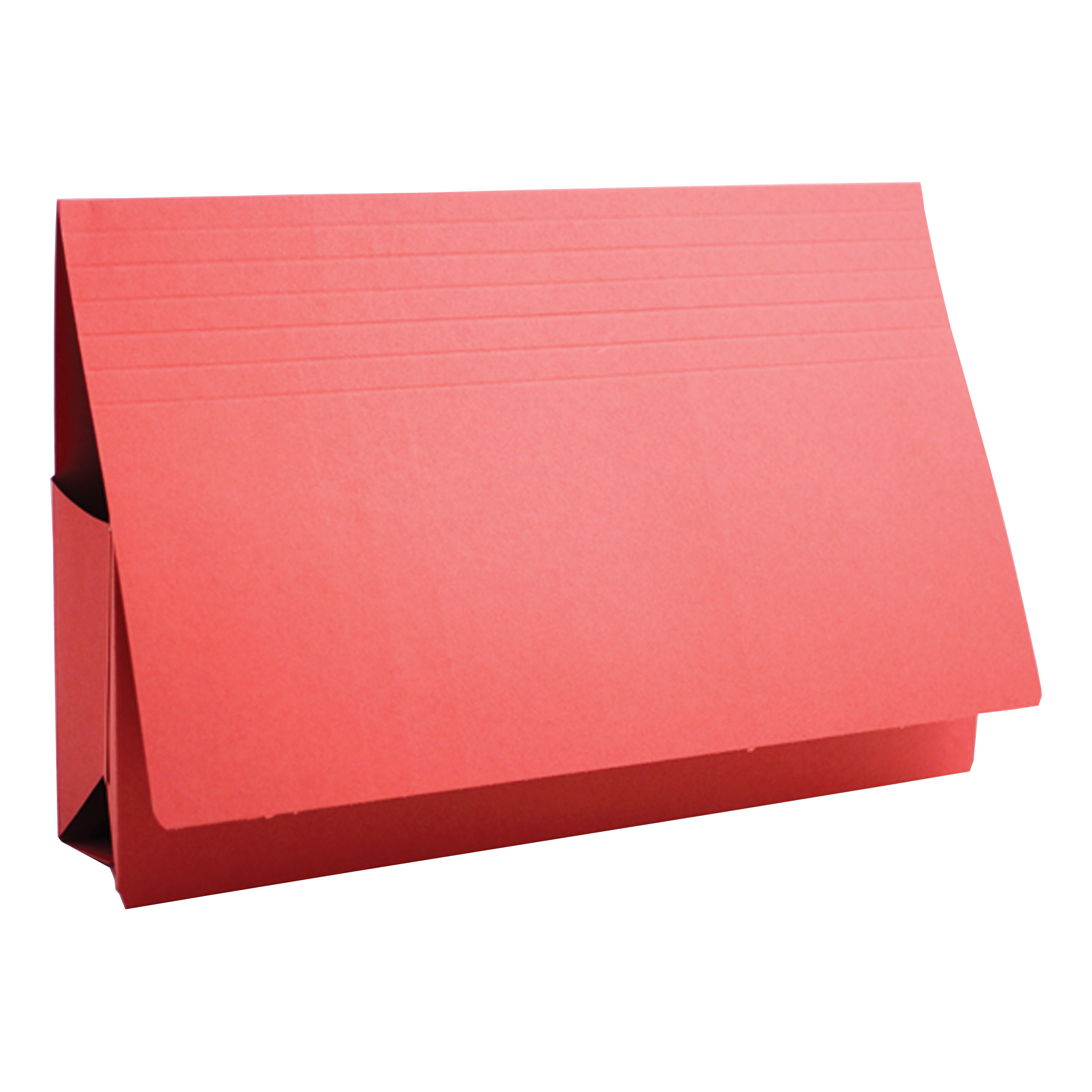 Document Wallets Guildhall Probate Wallets Manilla 315gsm 75mm Foolscap Red Ref PRW2-REDZ Pack 25