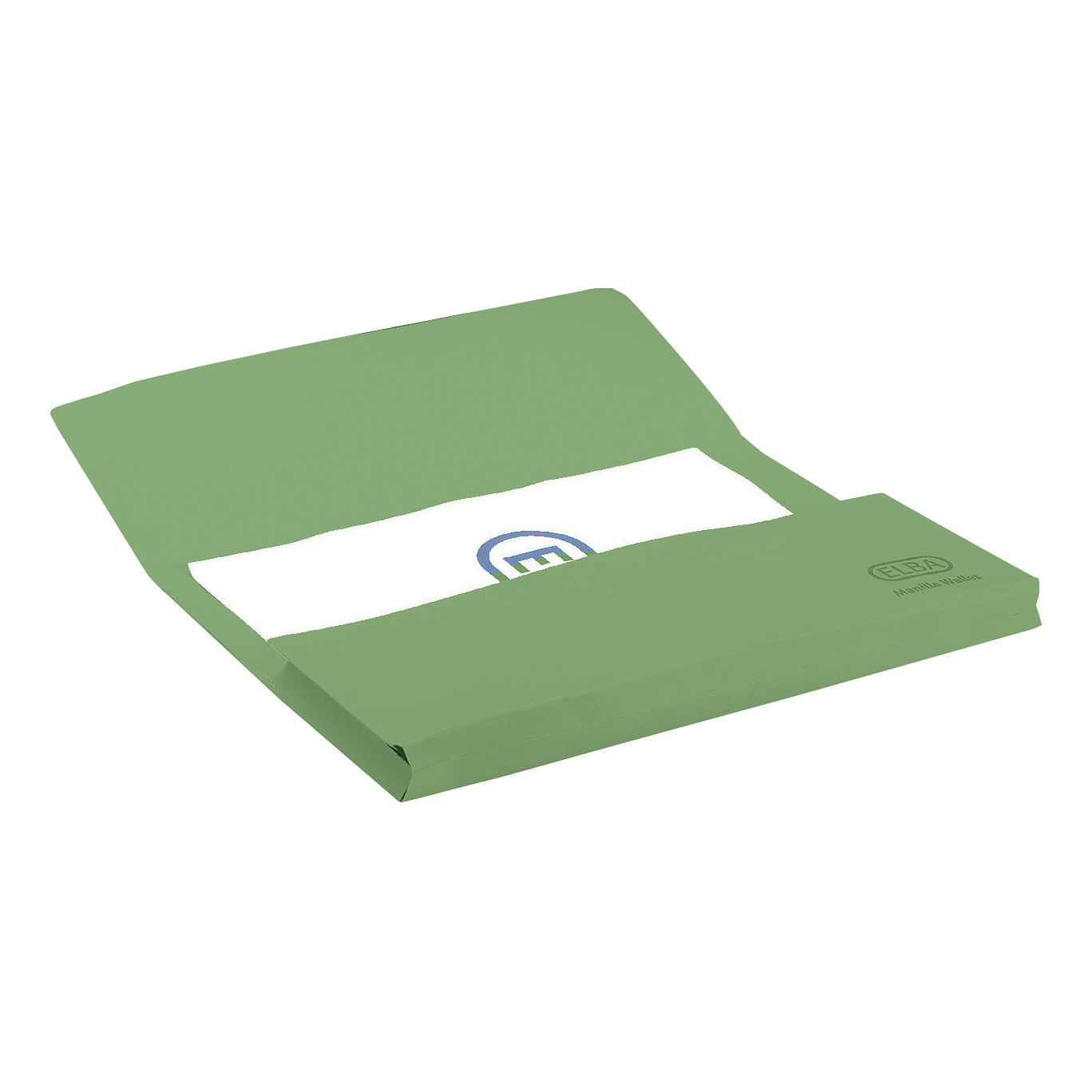 Elba StrongLine Manilla Document Wallet 320gsm 32mm Foolscap Green Ref 100090268 [Pack 25]