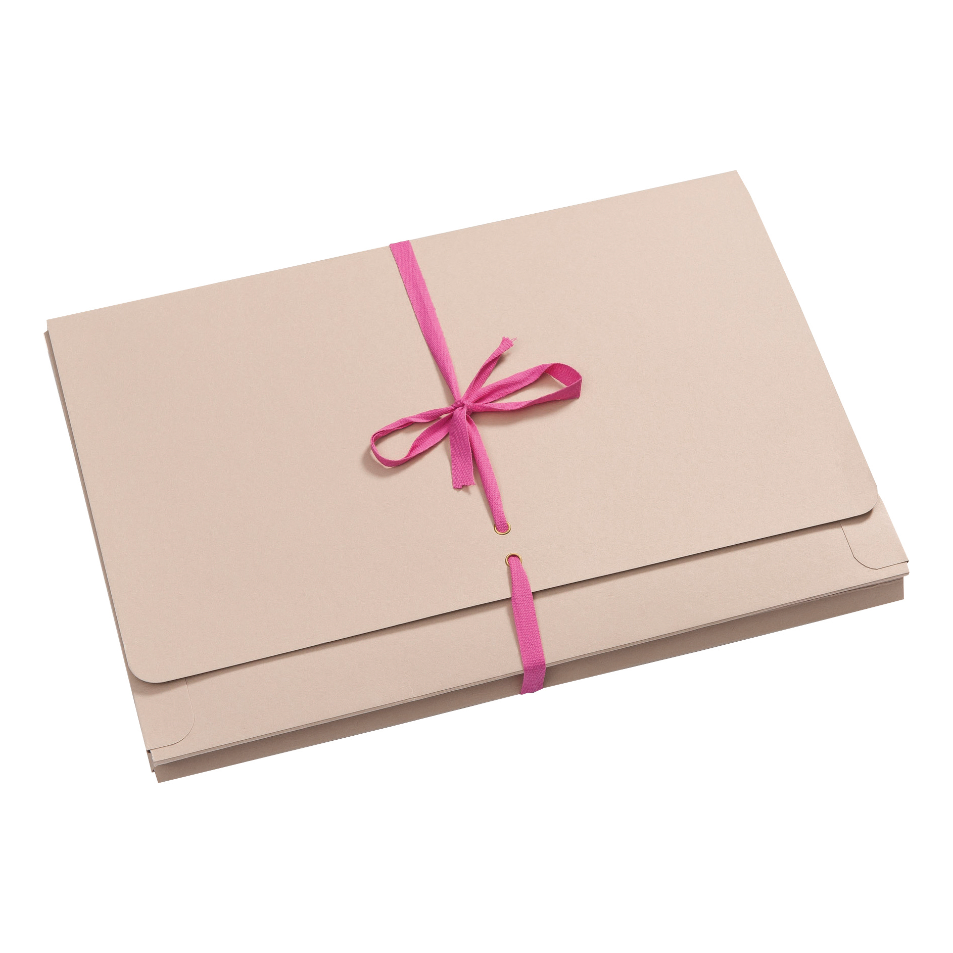 Guildhall Legal Wallets Merstham Manilla Pink Ribbon 315gsm 25mm Gusset Foolscap Ref 225Z Pack 25