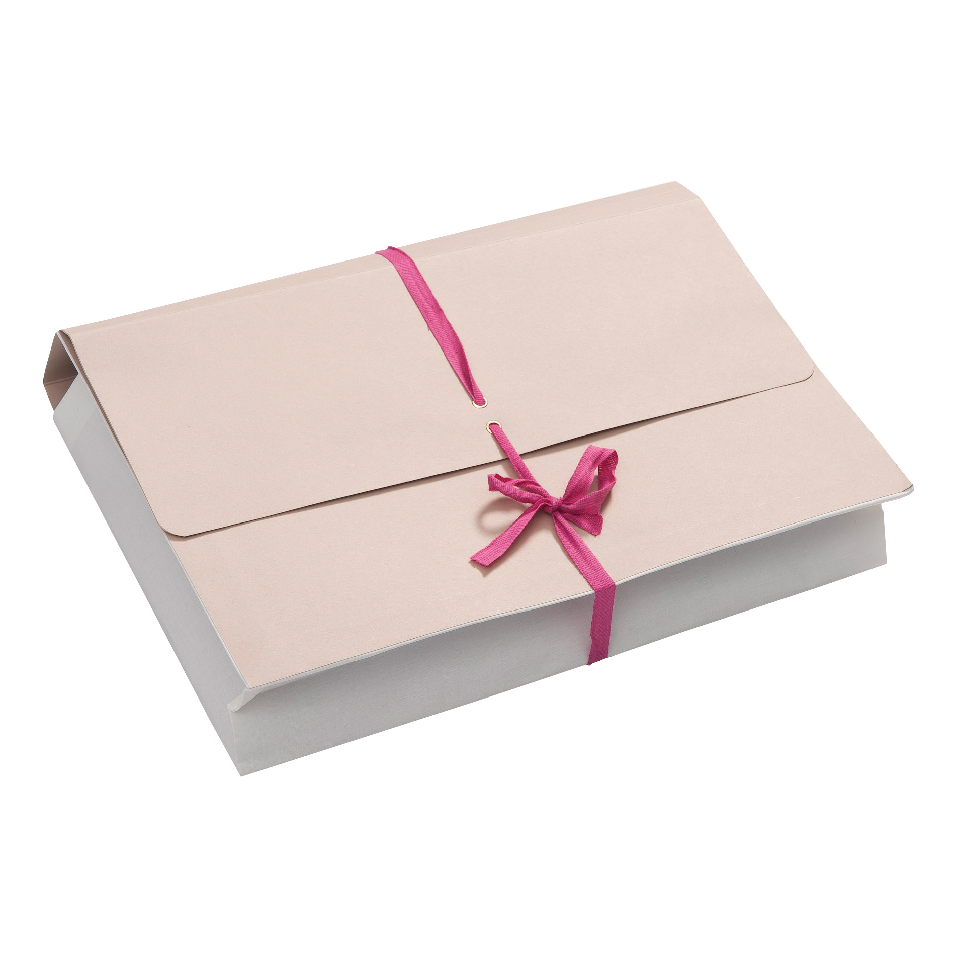 Guildhall Legal Wallets Croydon Manilla Pink Ribbon 450gsm 75mm Gusset Foolscap Ref 239Z Pack 25