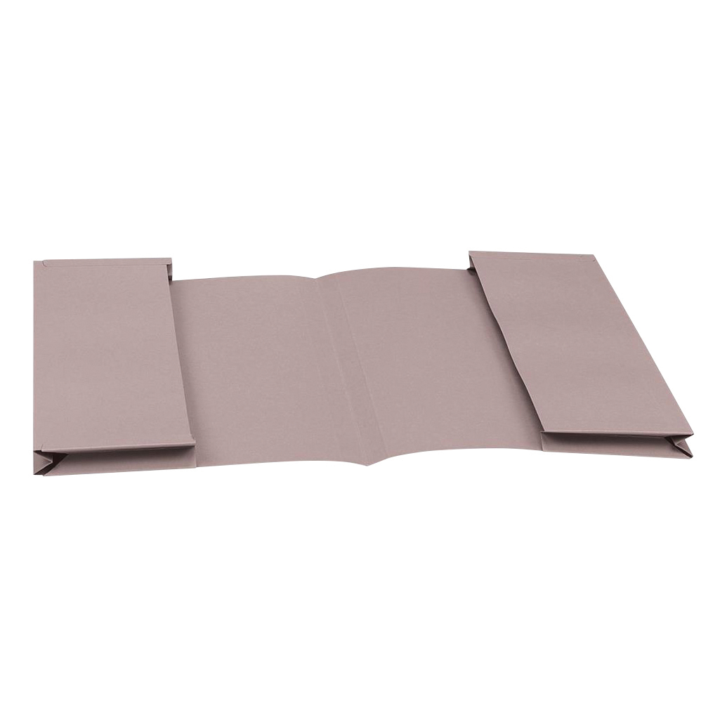 Image for 5 Star Eco Double Pocket Wallet 285gsm Foolscap Recycled Buff [Pack 25]