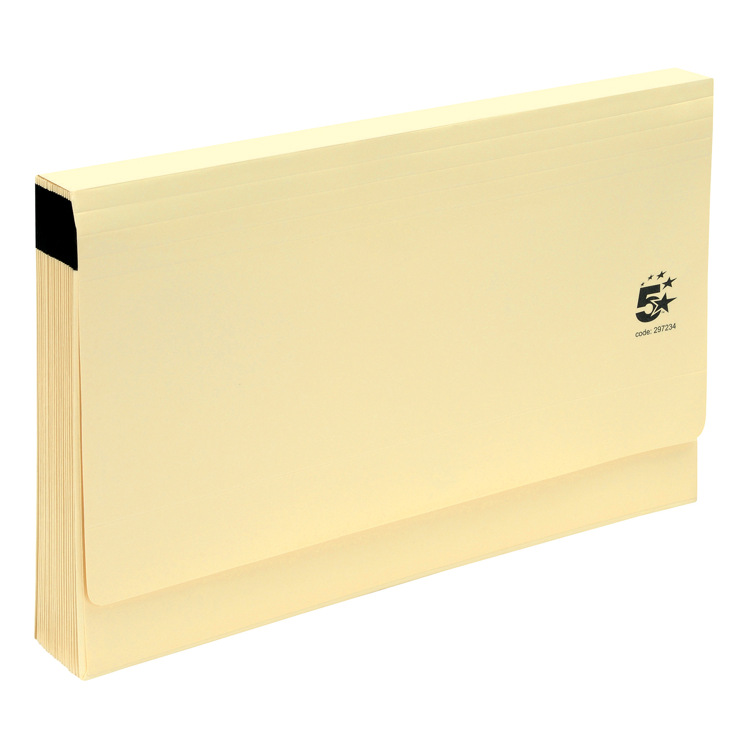 Expanding Files 5 Star Office De Luxe Expanding File 19 Pockets A-Z Foolscap Cardboard Cover Buff