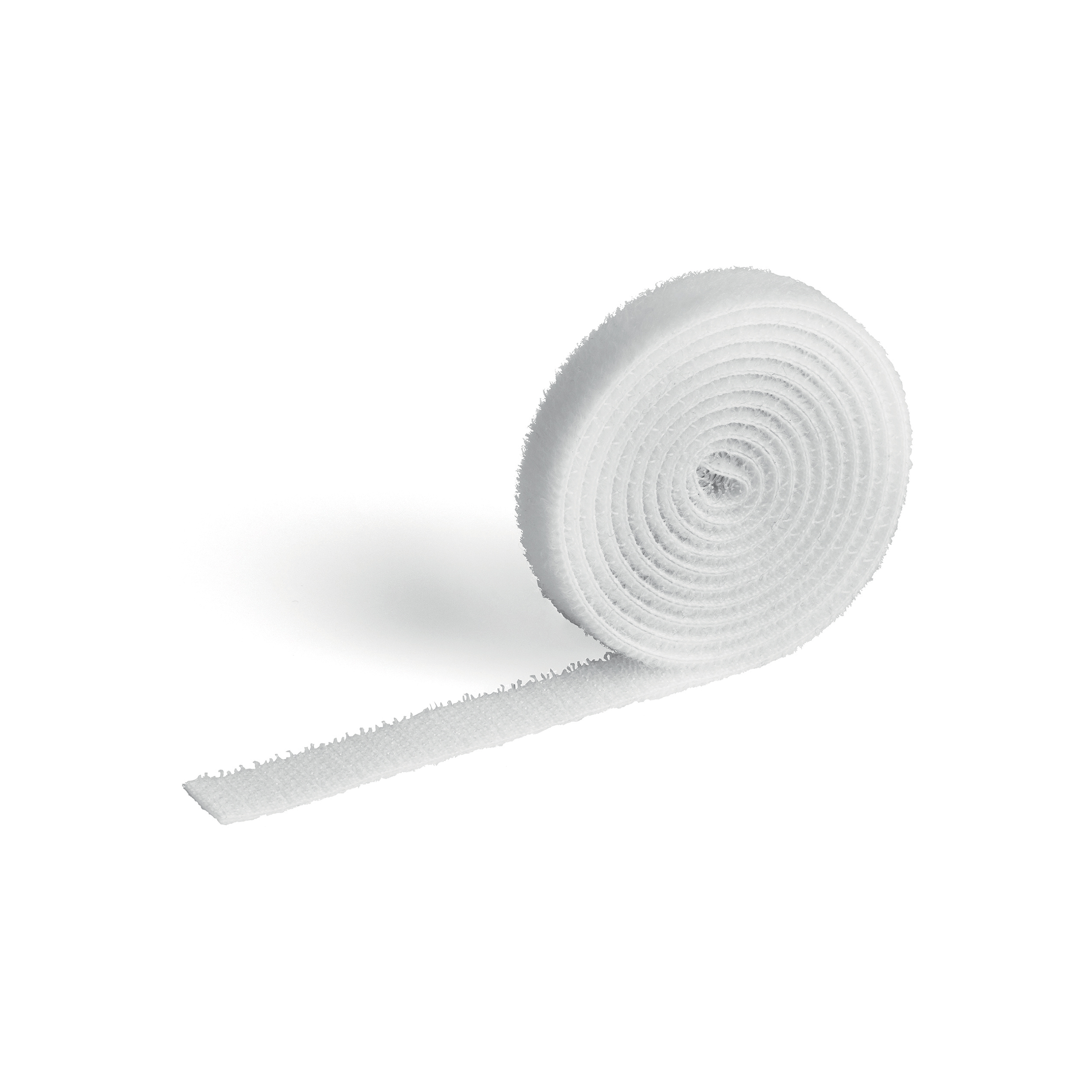 Cable Tidies Durable CAVOLINE GRIP 10 Self Gripping Cable Management Tape White Ref 503102