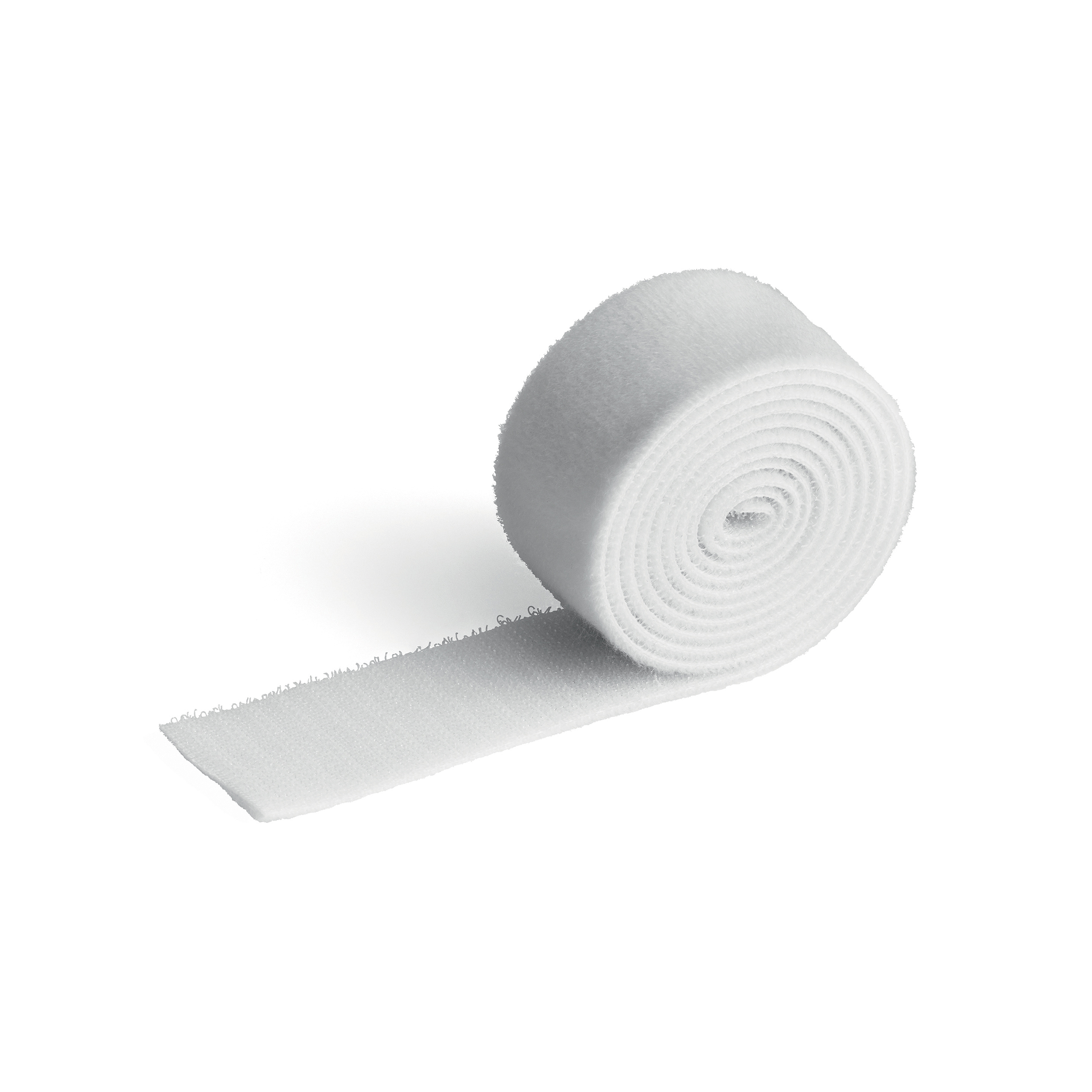 Cable Tidies Durable CAVOLINE GRIP 30 Self Gripping Cable Management Tape White Ref 503302