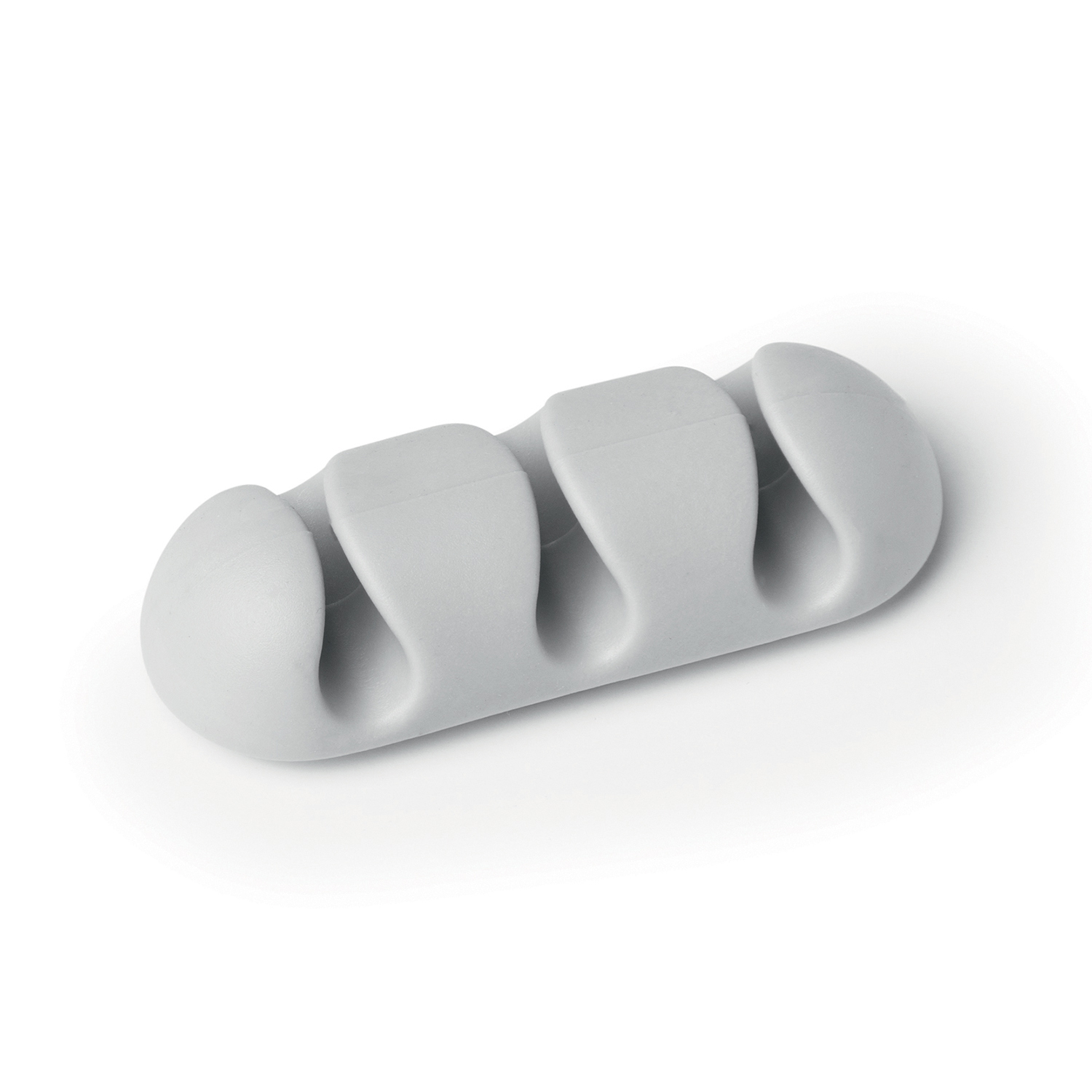 Durable CAVOLINE CLIP3 Self Adhesive Cable Clips Grey Ref 503910 [Pack 2]