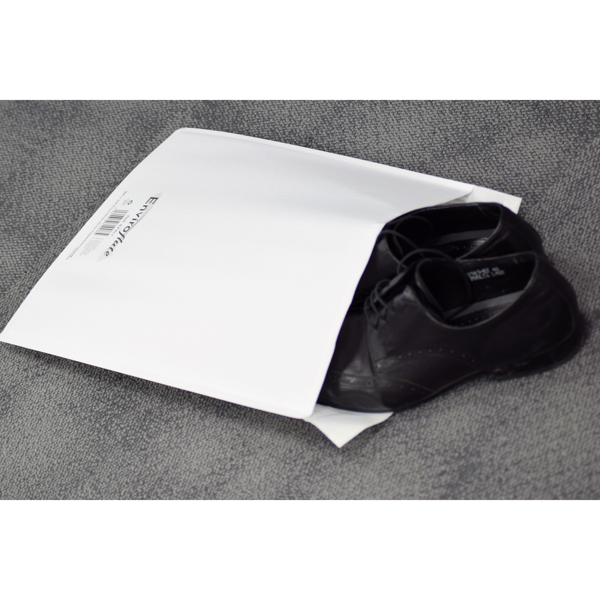 Mailing bags Enviroflute Paper Mailing Bag 350x470mm White [Pack 100] Ref EF7/K