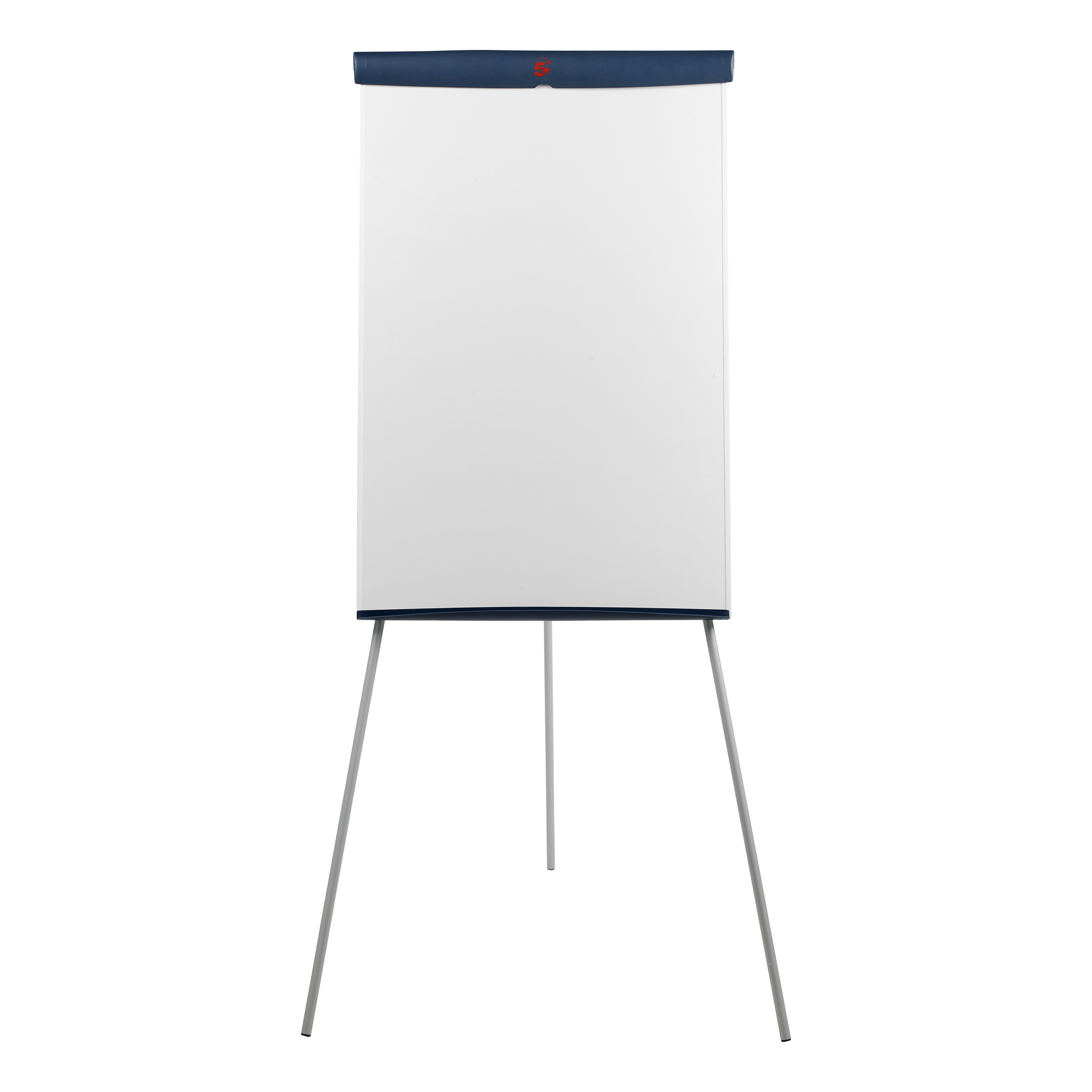 Easels 5 Star Office Flipchart Easel with W670xH990mm Board W700xD82xH1900mm Blue Trim