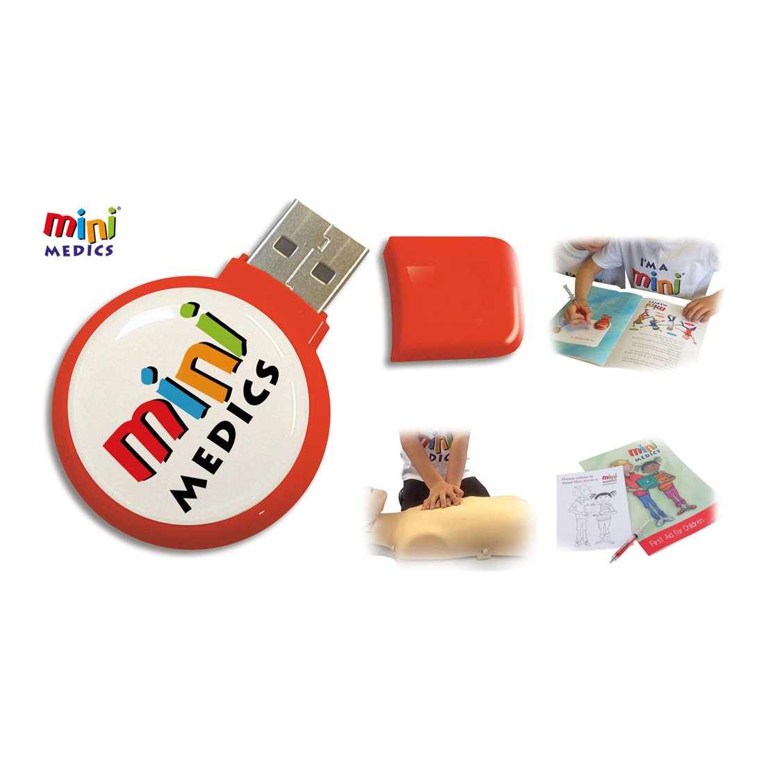 Mini Medics USBB Training Pack with 32 Books & Pencil Set Ref CM1182 *Up to 7-10 Day Leadtime*