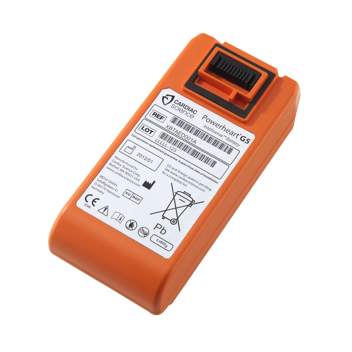 Equipment Cardiac Science G5 Replacement Battery Ref CM1206 *Up to 7-10 Day Leadtime*